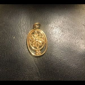 Vintage Gold Diamond Pendant